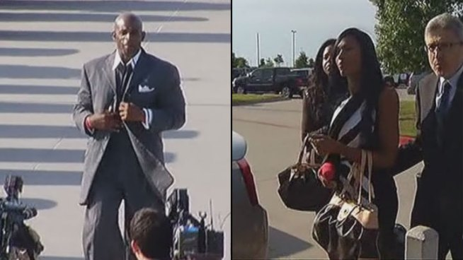 A Collin County judge has rules in the ongoing custody battle between Deion Sanders and his estranged wife Pilar Sanders. The Sanders' boys will live with Deion at their Prosper home, their daughter will live with Pilar at their home in Celina. The couple will share custody when the school year ends.