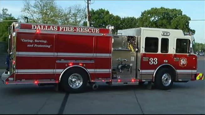 Several Rescued From Dallas Apartment Fire
