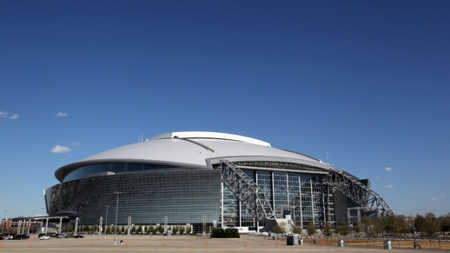 Cowboys Stadium Hosts National Senior Games Torch Relay