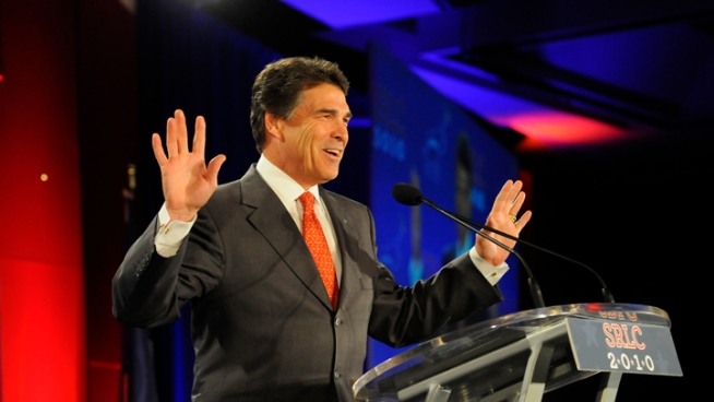 Bills Piling Up on Gov. Perry's Desk