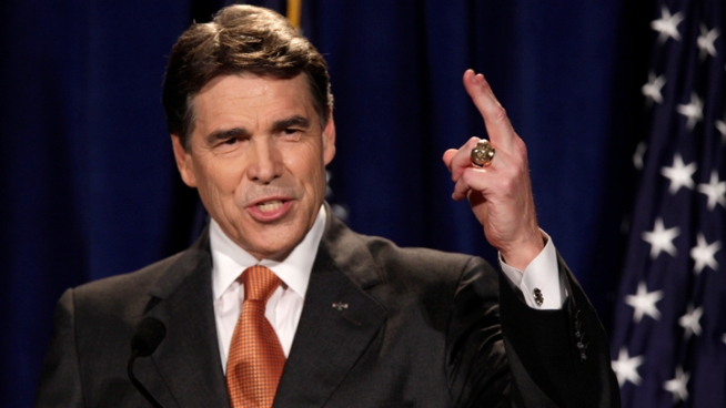 Perry Pops Obama With 'Lazy'