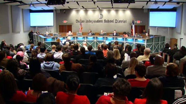 Dallas school trustees unanimously vote to overturn a policy passed in January that added 45 minutes to teachers' workdays without extra pay.