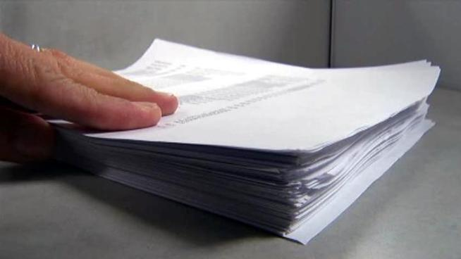 The stack of bills for DISD employee travel in the first three months of this year is more than 200 pages thick and adds up to more than $1.1 million. Mike McNaughton, a DISD parent who serves on the Citizens Budget Review Commission says