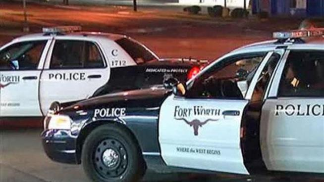 Police are searching for a gunman who shot a man in Fort Worth on Monday morning.