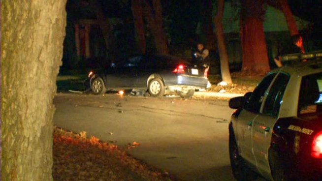 A man is in critical condition following a high speed chase with police near the TCU campus.