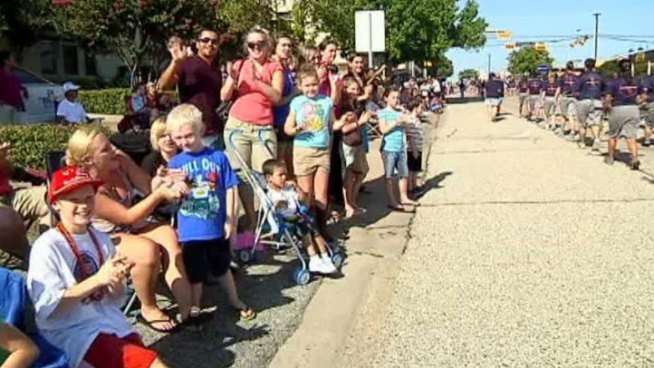At least 7,000 people took the streets to watch the annual Garland Labor Day Parade on Monday.