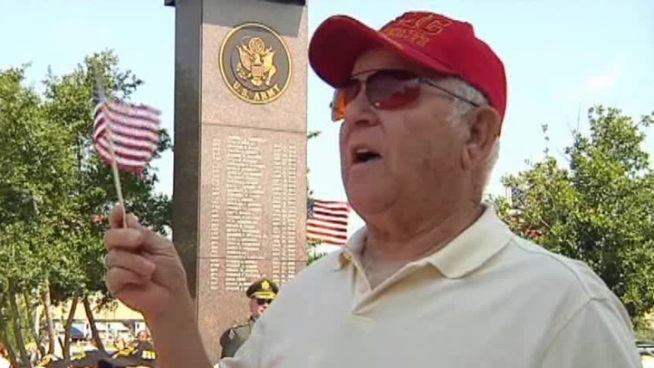 About 700 people attended the Veterans Memorial in Grand Prairie to pay their respects to their local heroes.