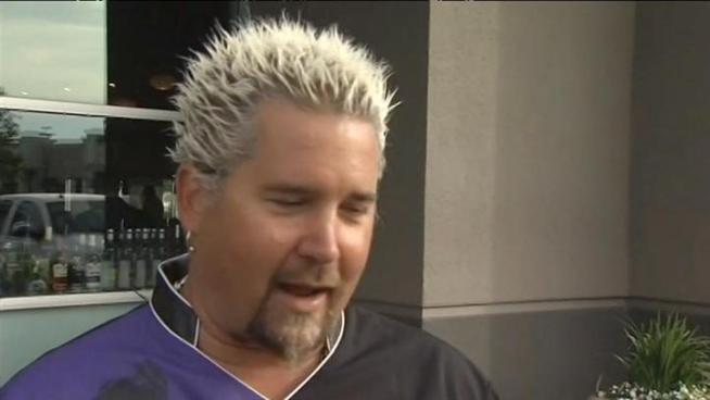 Guy Fieri talks about his recovered stolen Lamborghini