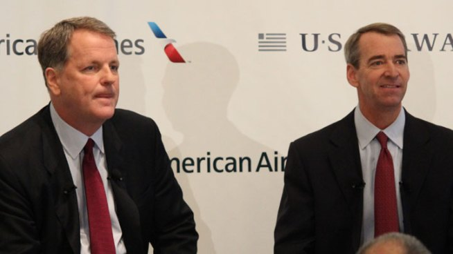 AMR, US Air CEOs Testify in D.C.