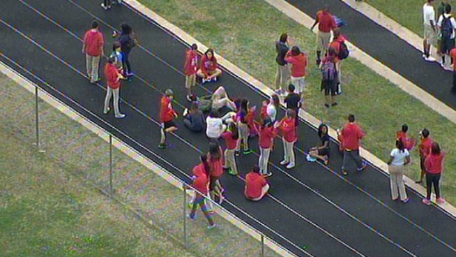 Gas Leak Prompts School Evacuation