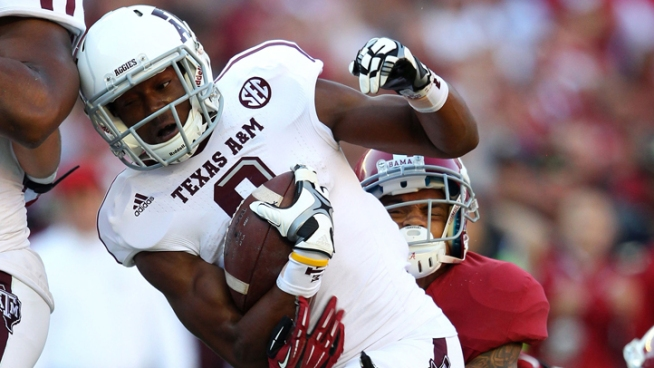 Dallas police have taken into custody a Texas A&M student-athlete who disappeared Monday in College Station and was found in Dallas early Thursday morning, NBC 5 has learned.