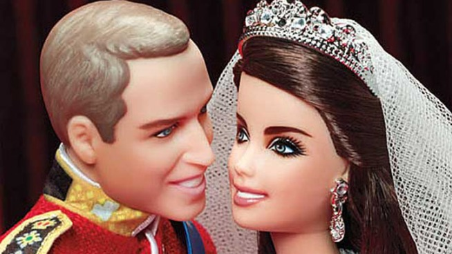 """Barbie"" Maker Sells Prince William and Kate Middleton Dolls"