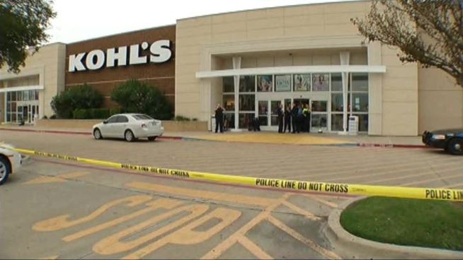 Some customers who came to the re-opened Kohl's in Keller were concerned by the fatal shooting of a shoplifter by a police officer.