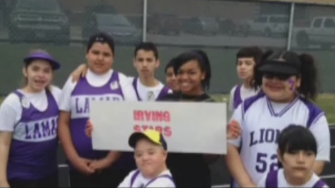 A video of students performing at the Special Olympics has won Irving's Lamar Middle School $10,000 in a nationwide video contest.
