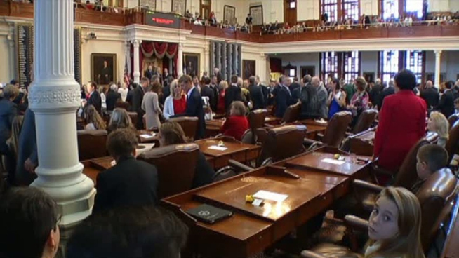 Lawmakers are back at work in Austin. On the session's first day, they gave a better idea of what the Legislature's top priorities will be.
