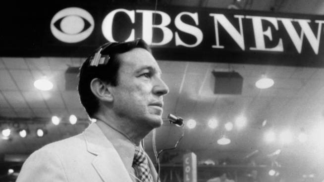 Mike Wallace, the legendary CBS News broadcaster, interviewer and