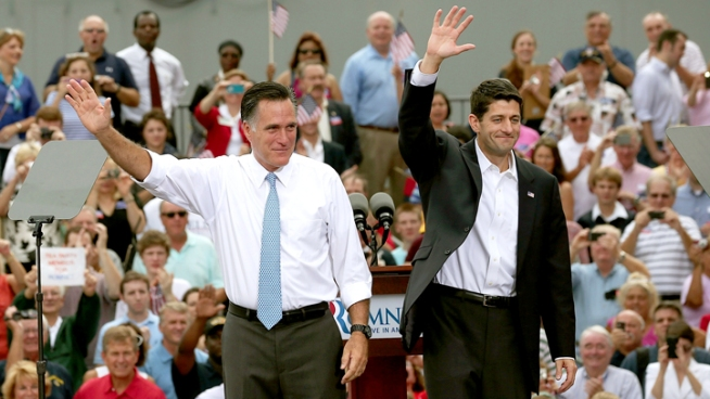 Romney's Choice of Ryan Sets Contours for Campaign