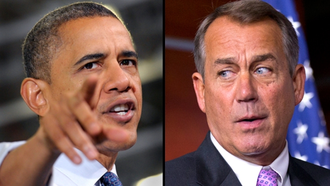 "Boehner: ""Serious Differences"" with W.H. on Fiscal Cliff"