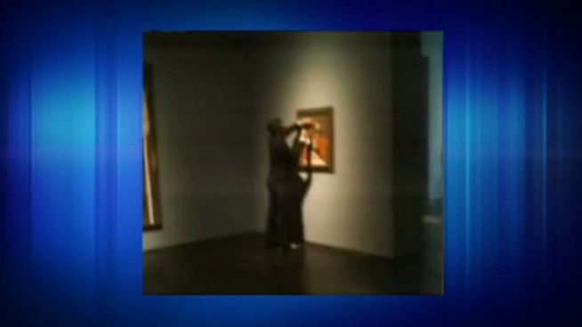 A Houston museum said it expects to put a 1929 Pablo Picasso painting that was damaged by a vandal back on display on Wednesday.