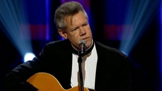 Country music star Randy Travis is resting at a Plano hospital after ...