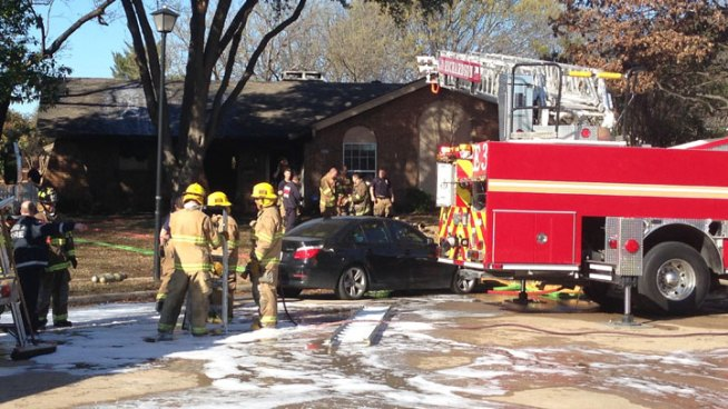 Baby Injured in Richardson House Fire