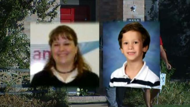 Police say the apparent murder-suicide occurred shortly after a judge awarded custody to the boy's father.