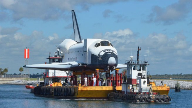Houston's Shuttle Replica to Arrive Friday