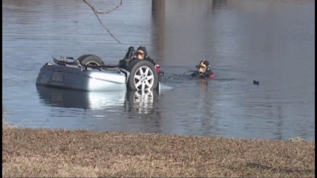 Four Dead After Car Plunges Into Pond