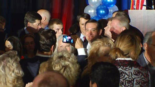 Republican Ted Cruz defeated Democrat Paul Sadler by a wide margin to win the U.S. Senate seat currently held by retiring Sen. Kay Bailey Hutchison.
