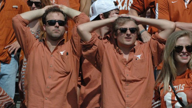 Images from the Sideline: Texas Vs. Oklahoma