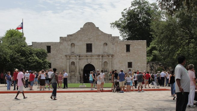 Another Battle Rages at Historic Alamo