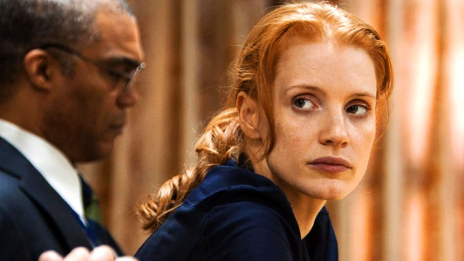 Jessica Chastain plays Maya, a CIA analyst who's been on the hunt for OBL for more than a decade in Kathryn Bigelow's newest work,