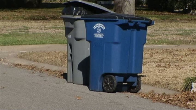 Neighbors debate between alley and curbside trash collection.