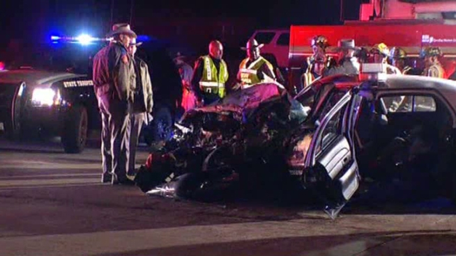 A Texas state trooper was involved in a serious head-on collision on U.S. 380 in McKinney on Friday night.