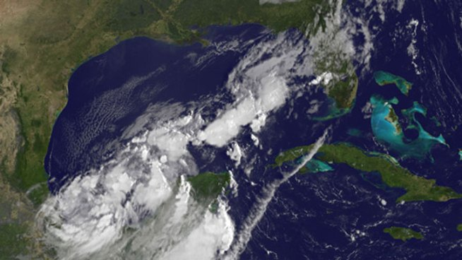 Tropical Storm Nate Forms in the Gulf of Mexico