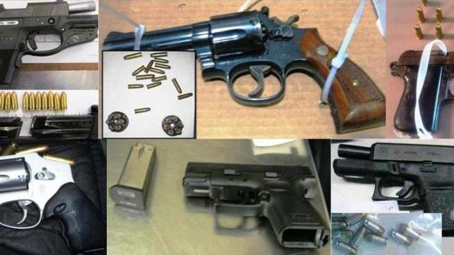 TSA agents have seized six guns at Dallas Love Field this month and a total of 15 guns so far this year.
