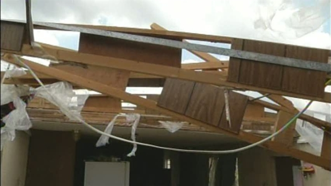 The National Weather Service today confirmed seven tornadoes occured in yesterday's storms, which ripped through North and Central Texas.