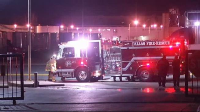 Fire Rips Through Dallas Apartments Overnight