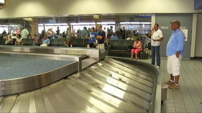 Travelers and flights were redirected to DFW Airport to avoid damage from Hurricane Irene.