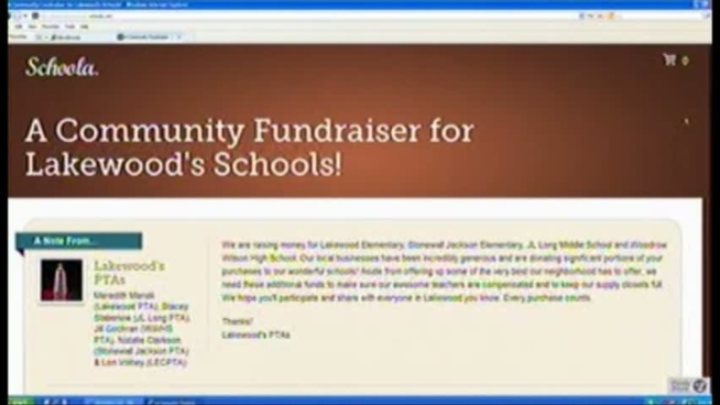 Lakewood Schools is holding fundraisers with a high-tech twist, offering deals on goods and services in the community through a website called Schoola.