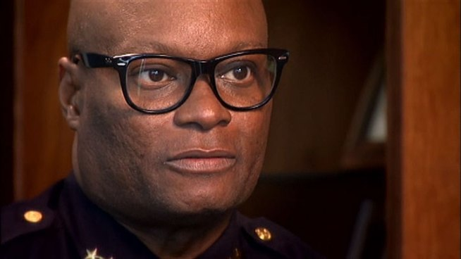 Dallas Police Chief David Brown gave his first formal interview about a nine-month-long NBC 5 investigation that found police officers in Dallas and across Texas were causing car crashes by typing on mobile dashboard computers while driving.
