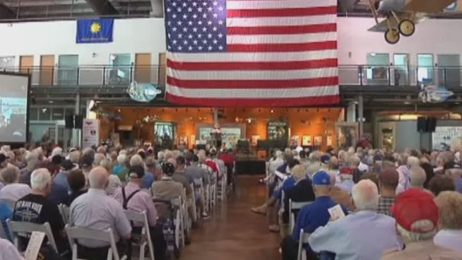67 years ago Tuesday, Americans celebrated the end of World War II, and in Dallas the Daughters of WWII honored vets and their legacy.
