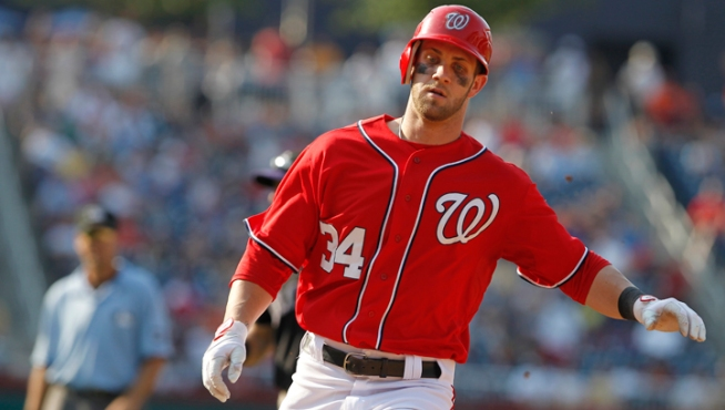 Nats' Harper, Braves' Bourn Added to NL Roster
