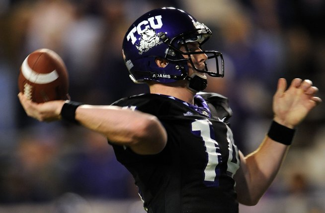 BCS Buster Hopeful TCU Shuts Out UNLV