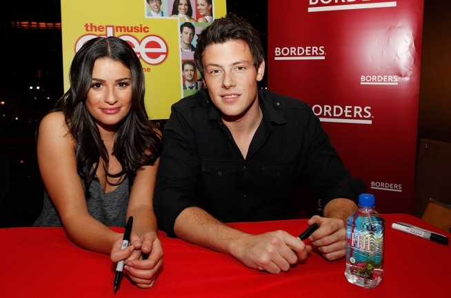 """Glee"" Stars Deny Off-Screen Romance"