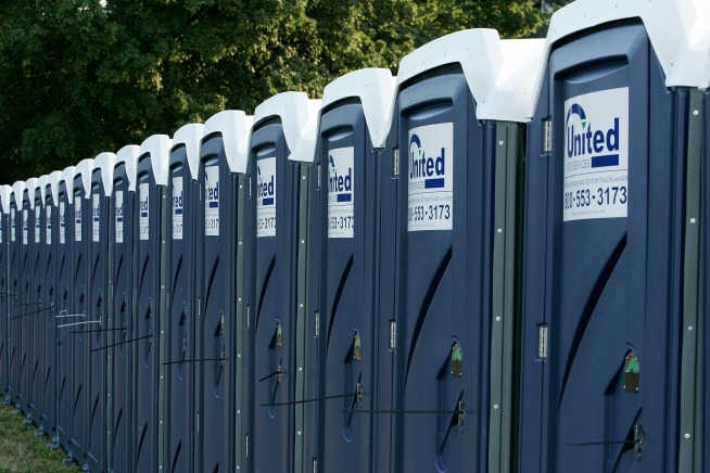 Do you think having the same number of portable toilets for men and women is unfair to women?