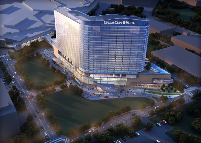 This Is What The Dallas Convention Center Hotel Will Look Like