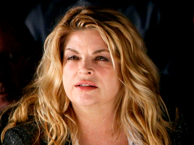 "Kirstie Alley Denies ""Front"" for Scientology"