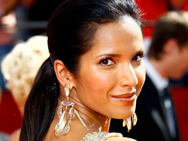 "Padma Lakshmi: Pregnancy Is ""Not a Reason to Pig Out"""