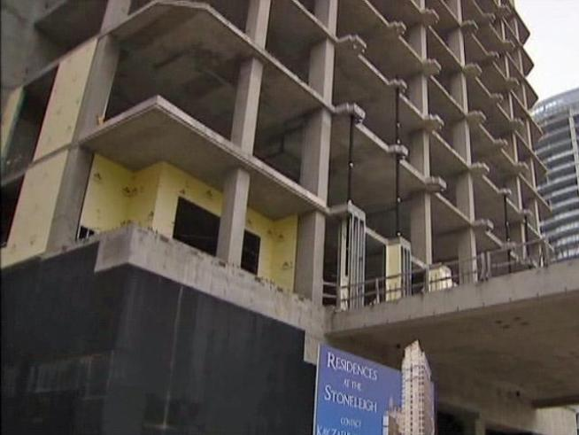 The Stoneleigh Project has been half finished for two years, but real estate experts say word that a new developer plans to finish the job is an indication of  economic recovery for 2011.